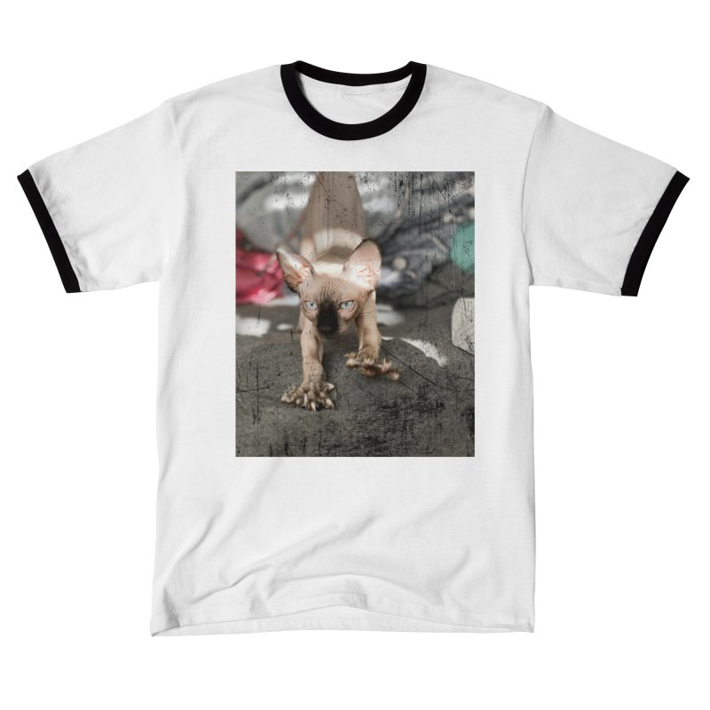 Cat Scratch Fever Men's T-Shirt by Luke the Lightbringer Artist Shop