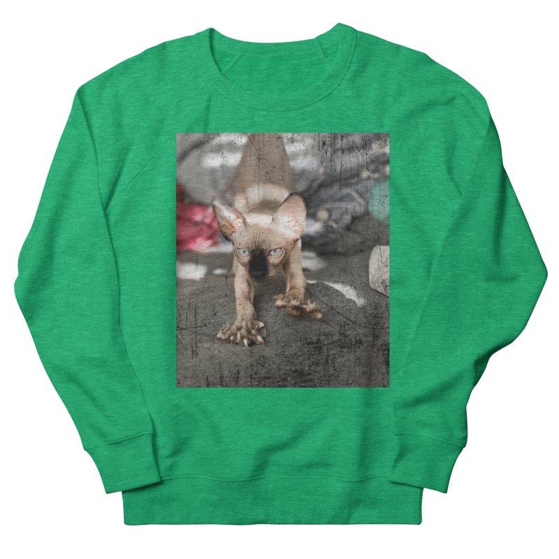Cat Scratch Fever Women's Sweatshirt by Luke the Lightbringer Artist Shop