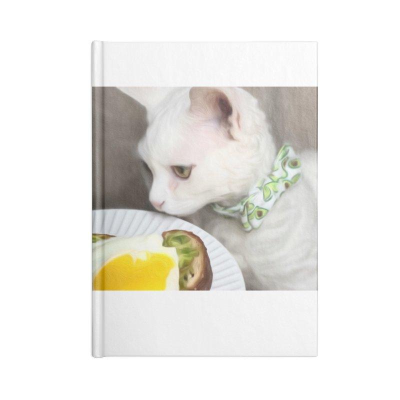 Hipster Cat Accessories Notebook by Luke the Lightbringer Artist Shop