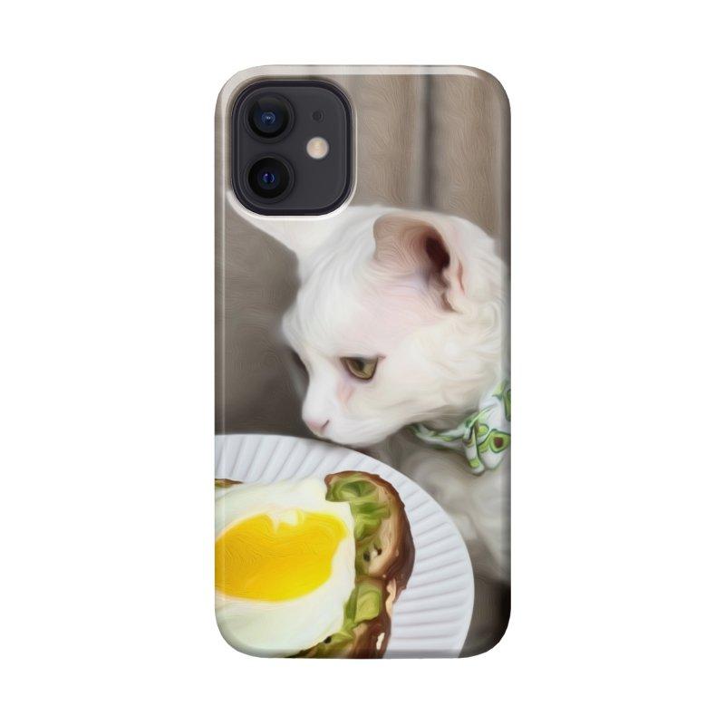 Hipster Cat Accessories Phone Case by Luke the Lightbringer Artist Shop