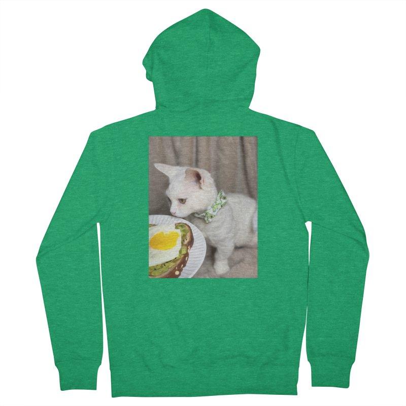 Hipster Cat Men's Zip-Up Hoody by Luke the Lightbringer Artist Shop