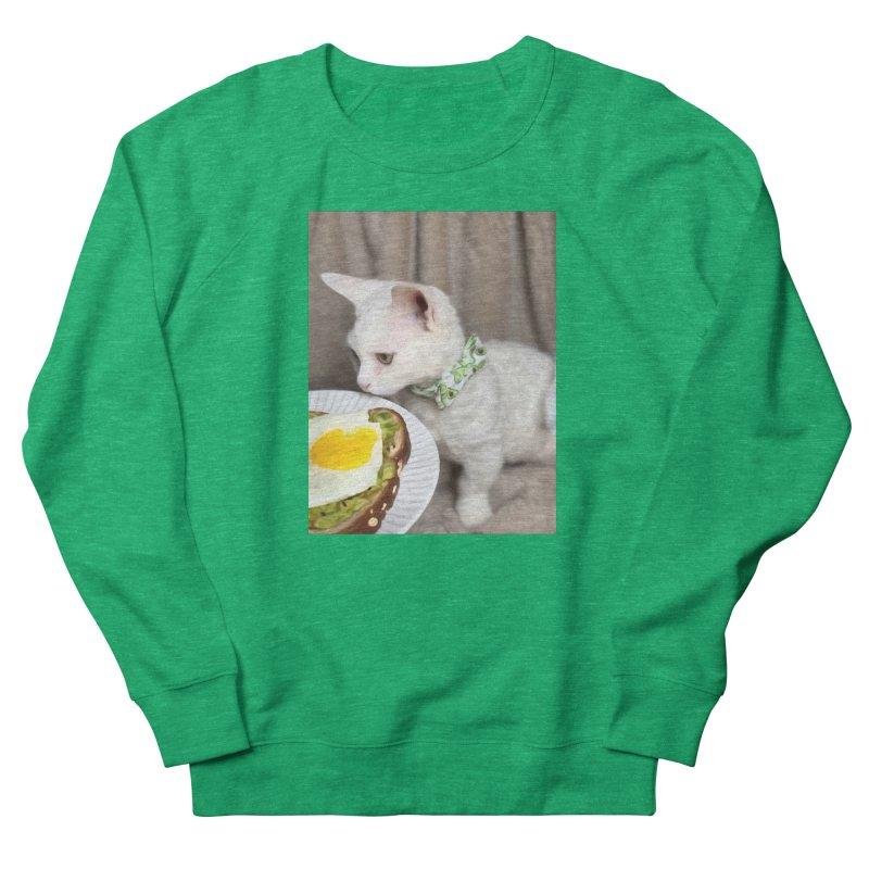 Hipster Cat Women's Sweatshirt by Luke the Lightbringer Artist Shop