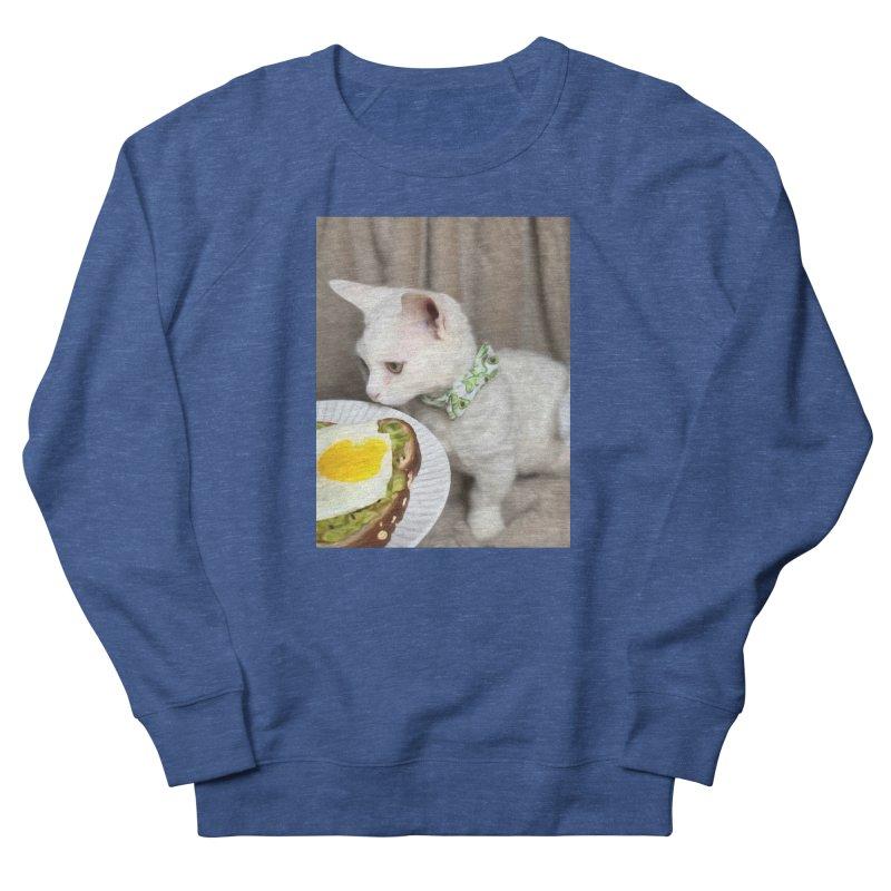 Hipster Cat Men's Sweatshirt by Luke the Lightbringer Artist Shop