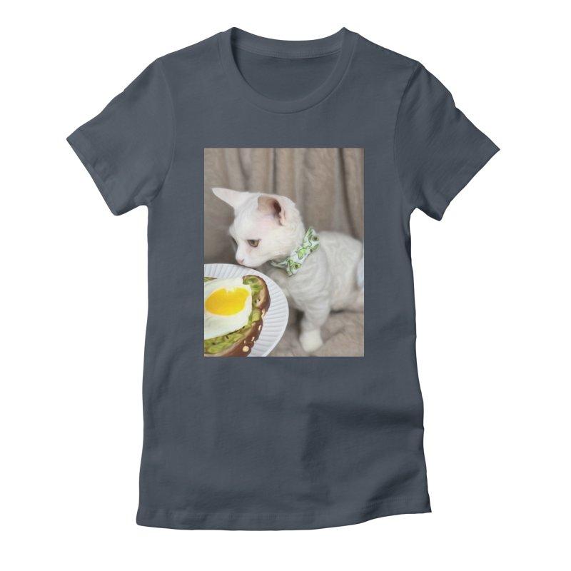 Hipster Cat Women's T-Shirt by Luke the Lightbringer Artist Shop