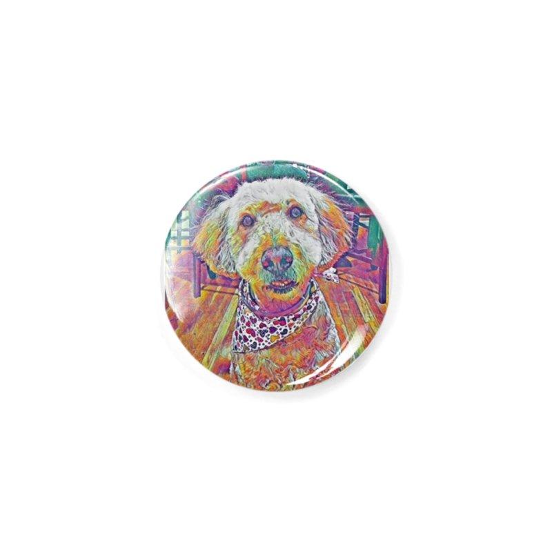Rainbow Doodle Accessories Button by Luke the Lightbringer Artist Shop