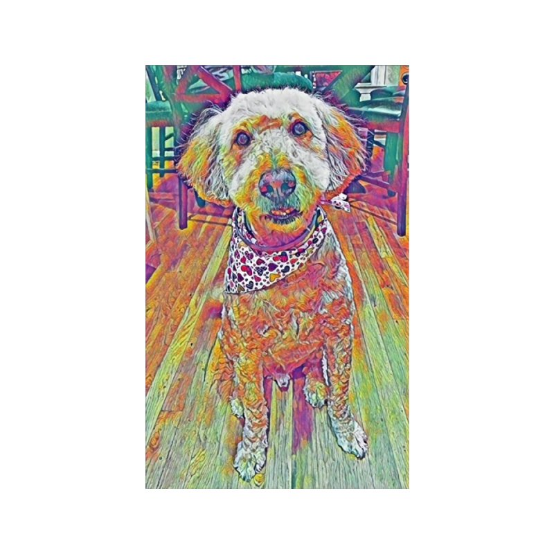 Rainbow Doodle Accessories Zip Pouch by Luke the Lightbringer Artist Shop