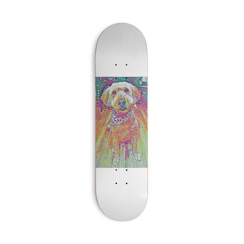 Rainbow Doodle Accessories Skateboard by Luke the Lightbringer Artist Shop
