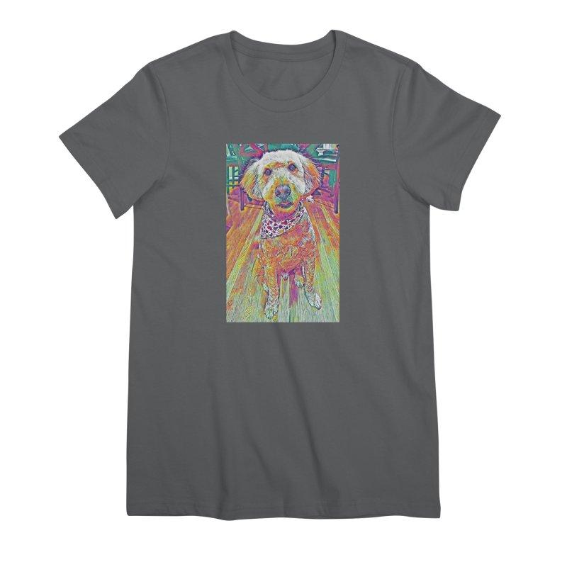 Rainbow Doodle Women's T-Shirt by Luke the Lightbringer Artist Shop