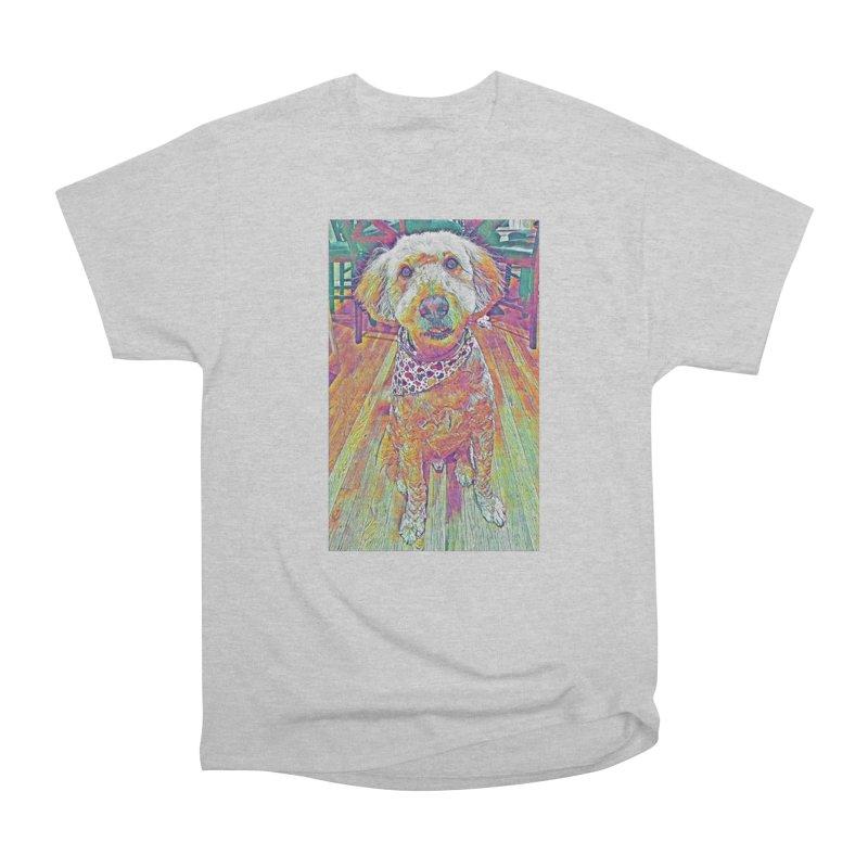Rainbow Doodle Men's T-Shirt by Luke the Lightbringer Artist Shop