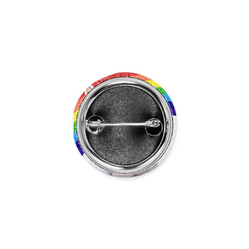 Pride Kitty Accessories Button by Luke the Lightbringer Artist Shop