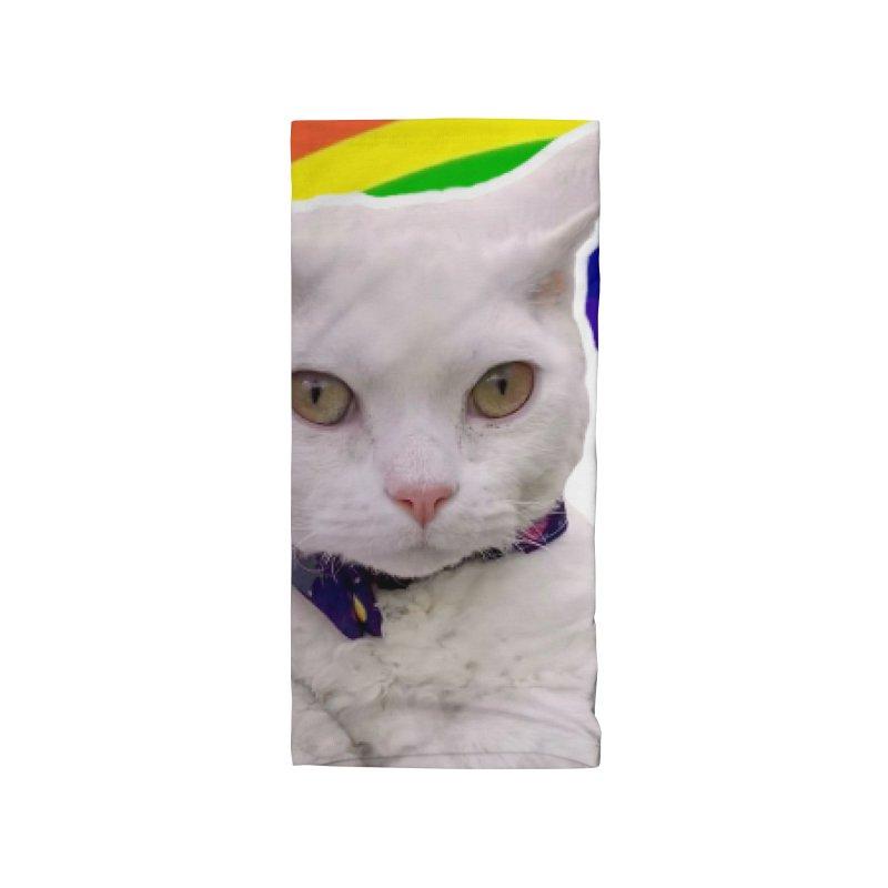 Pride Kitty Accessories Neck Gaiter by Luke the Lightbringer Artist Shop