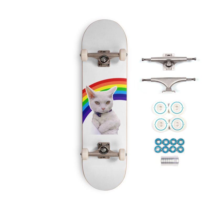 Pride Kitty Accessories Skateboard by Luke the Lightbringer Artist Shop