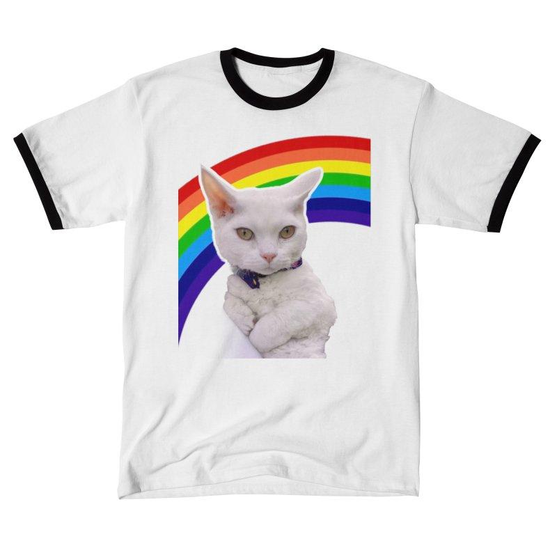 Pride Kitty Men's T-Shirt by Luke the Lightbringer Artist Shop