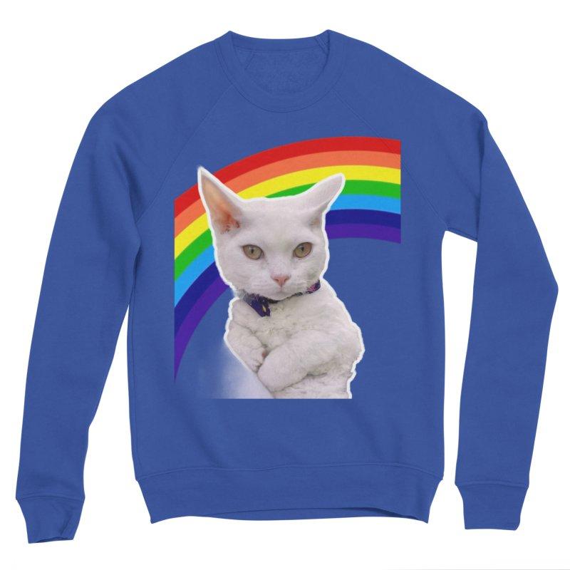 Pride Kitty Women's Sweatshirt by Luke the Lightbringer Artist Shop