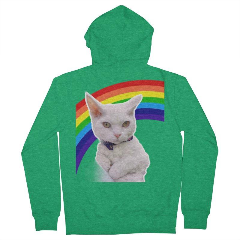 Pride Kitty Women's Zip-Up Hoody by Luke the Lightbringer Artist Shop