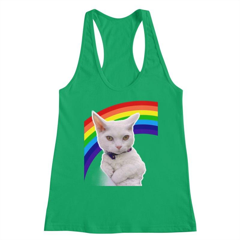 Pride Kitty Women's Tank by Luke the Lightbringer Artist Shop