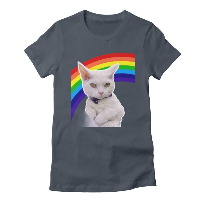 Pride Kitty Women's T-Shirt by Luke the Lightbringer Artist Shop