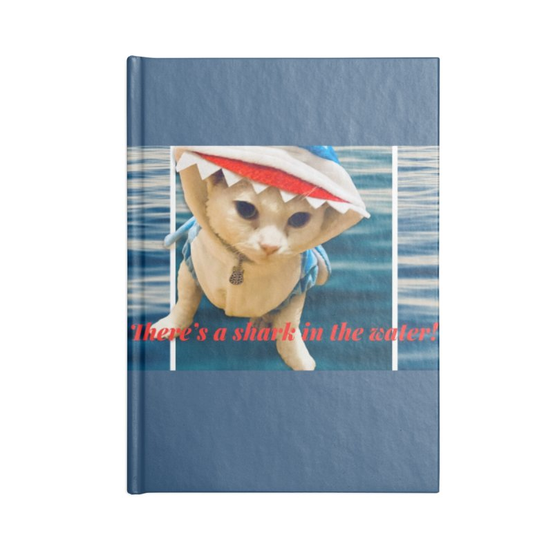 There's a Shark in the Water! Accessories Notebook by Luke the Lightbringer Artist Shop