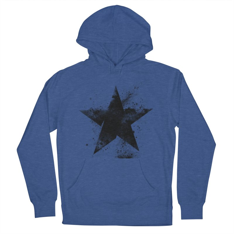 Broken Star Women's French Terry Pullover Hoody by Lumi
