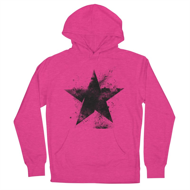Broken Star Men's French Terry Pullover Hoody by Lumi
