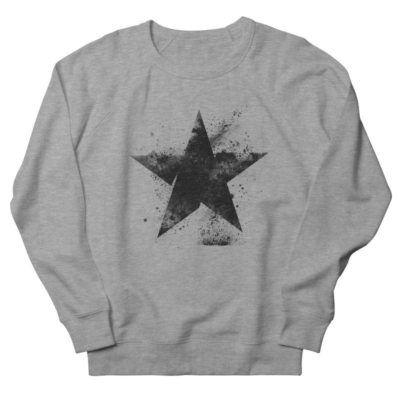Broken Star Men's French Terry Sweatshirt by Lumi