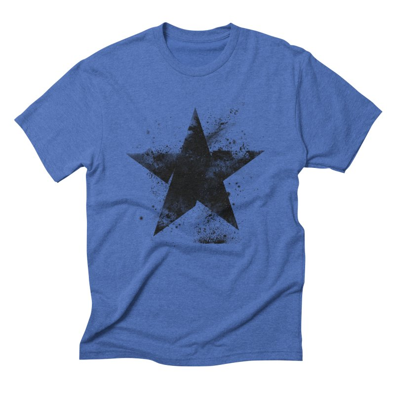 Broken Star Men's Triblend T-Shirt by Lumi