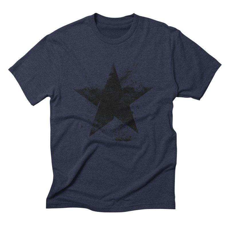 Broken Star Men's Triblend T-Shirt by Lumi