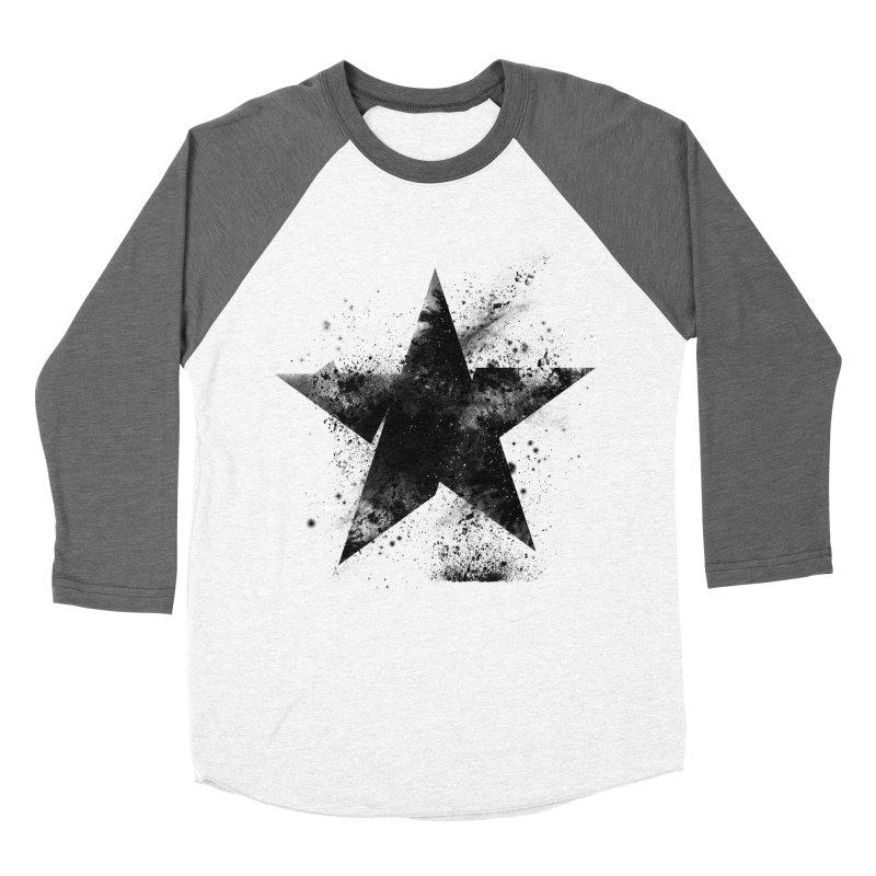 Broken Star Women's Baseball Triblend Longsleeve T-Shirt by Lumi