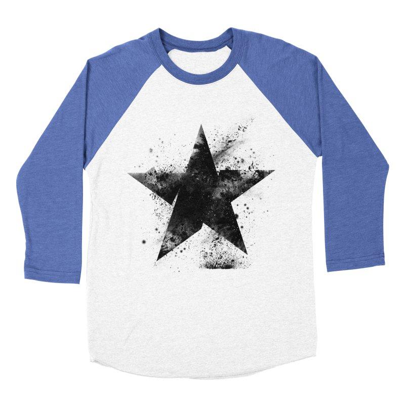 Broken Star Men's Baseball Triblend Longsleeve T-Shirt by Lumi