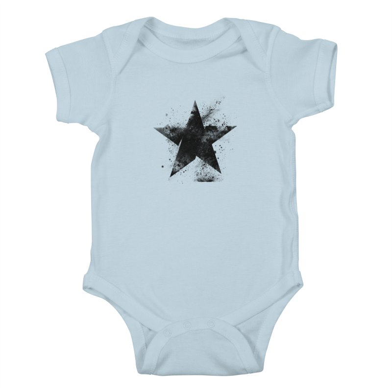 Broken Star Kids Baby Bodysuit by Lumi