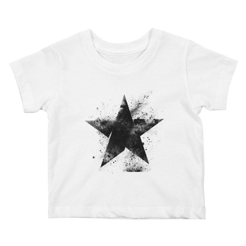 Broken Star Kids Baby T-Shirt by Lumi