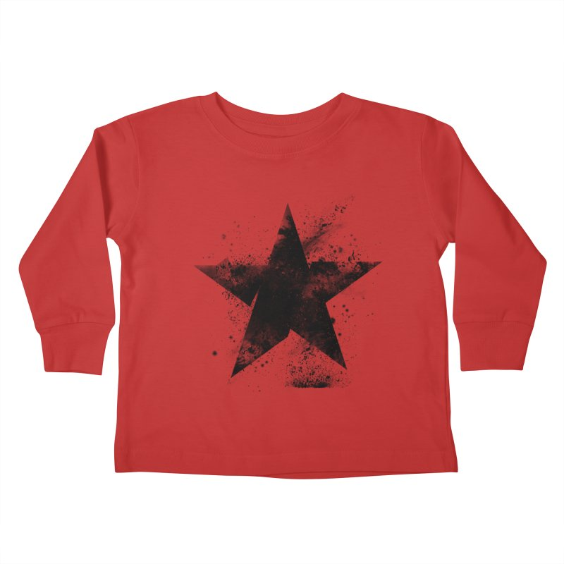 Broken Star Kids Toddler Longsleeve T-Shirt by Lumi