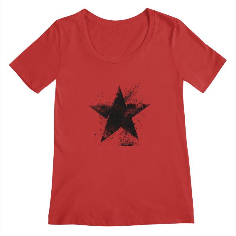 Broken Star Women's Regular Scoop Neck by Lumi