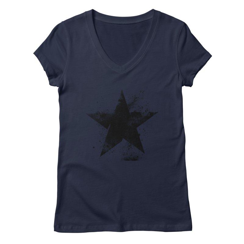 Broken Star Women's Regular V-Neck by Lumi