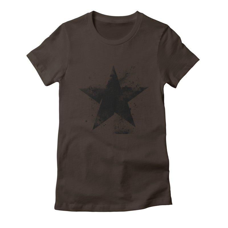 Broken Star Women's Fitted T-Shirt by Lumi