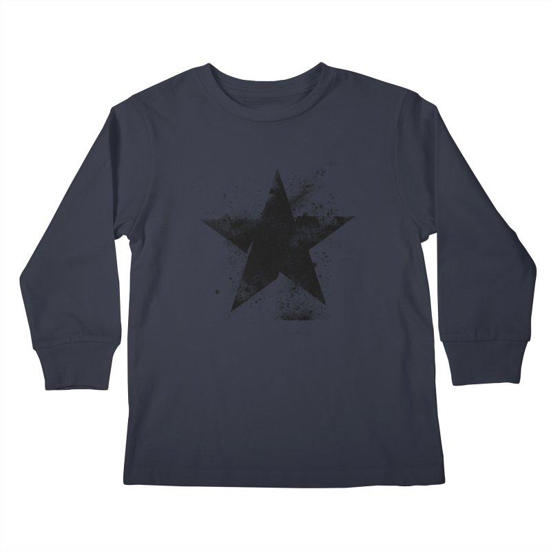 Broken Star Kids Longsleeve T-Shirt by Lumi