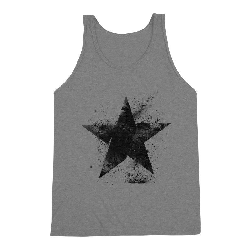 Broken Star Men's Triblend Tank by Lumi