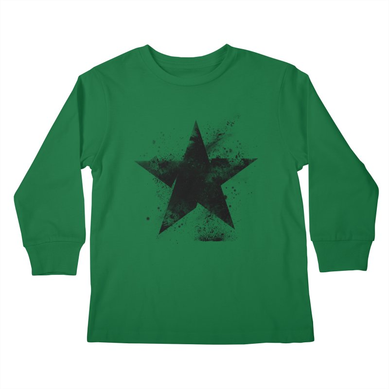 Broken Star Kids Longsleeve T-Shirt by Lumi