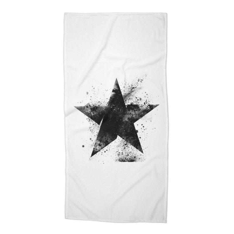 Broken Star Accessories Beach Towel by Lumi