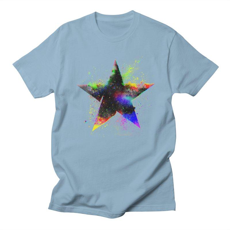 Shatter Star Women's Regular Unisex T-Shirt by Lumi