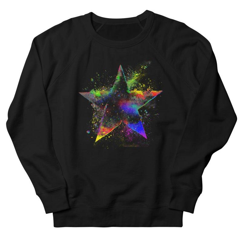 Shatter Star Women's French Terry Sweatshirt by Lumi