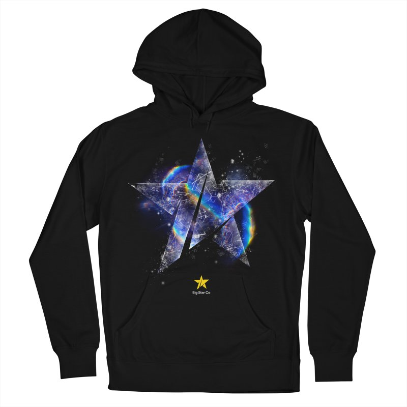 Big Star Prism Men's French Terry Pullover Hoody by Lumi