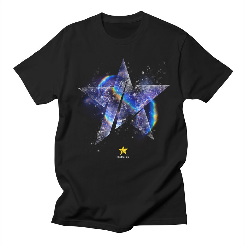 Big Star Prism Men's Regular T-Shirt by Lumi