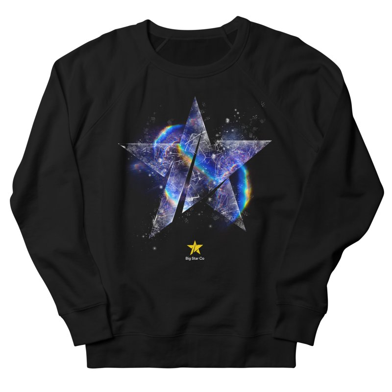 Big Star Prism Men's French Terry Sweatshirt by Lumi