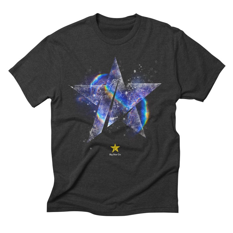 Big Star Prism Men's Triblend T-Shirt by Lumi