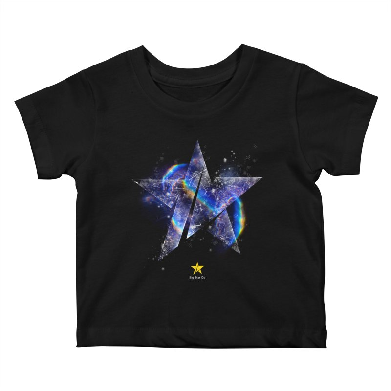 Big Star Prism Kids Baby T-Shirt by Lumi