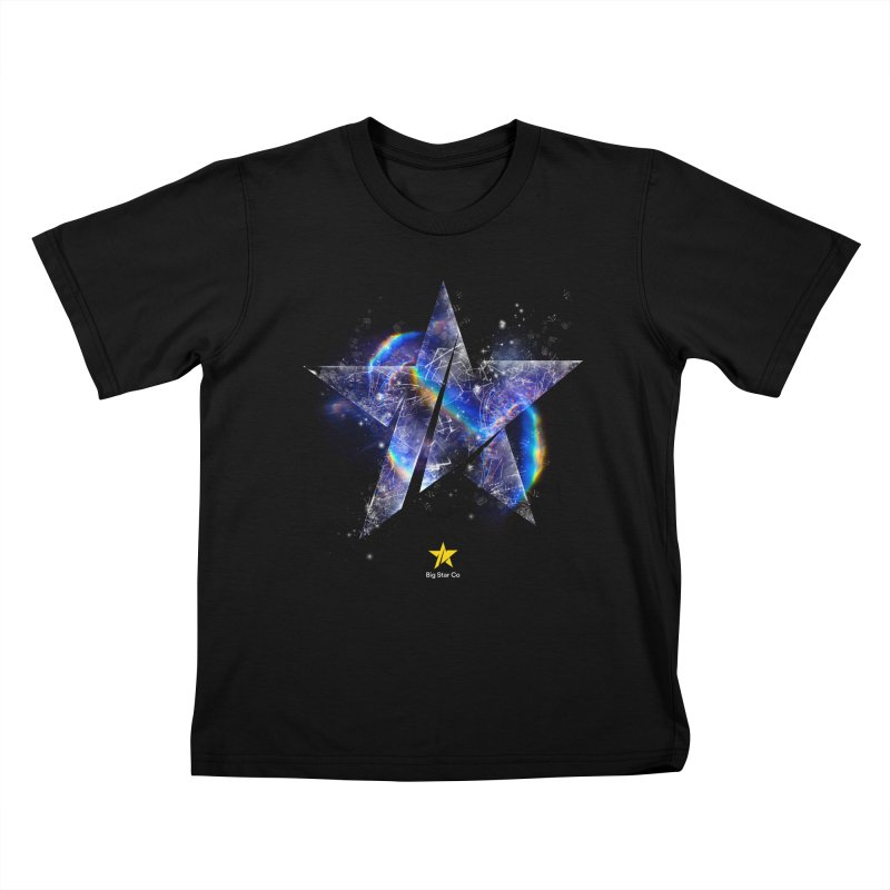 Big Star Prism Kids T-Shirt by Lumi