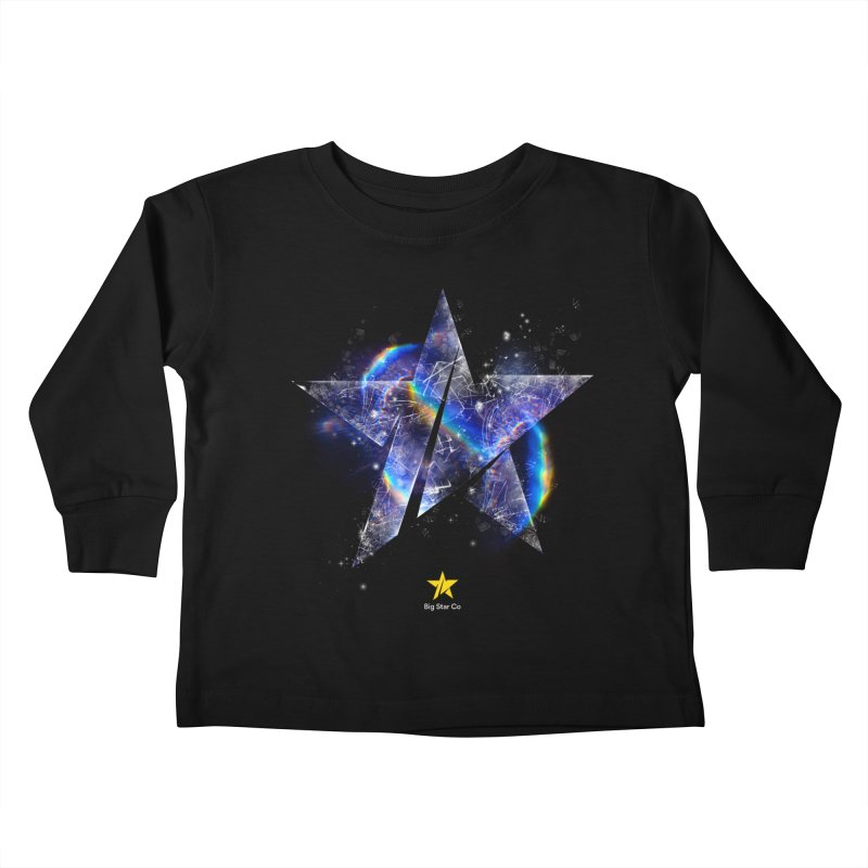 Big Star Prism Kids Toddler Longsleeve T-Shirt by Lumi