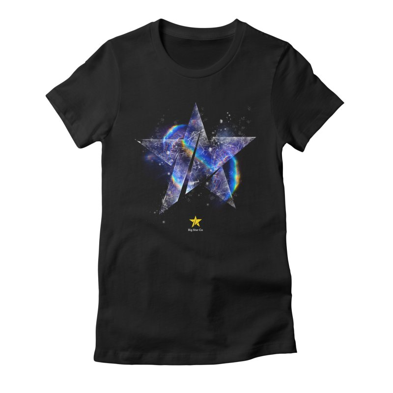 Big Star Prism Women's Fitted T-Shirt by Lumi