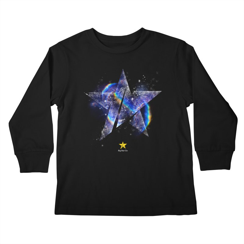 Big Star Prism Kids Longsleeve T-Shirt by Lumi